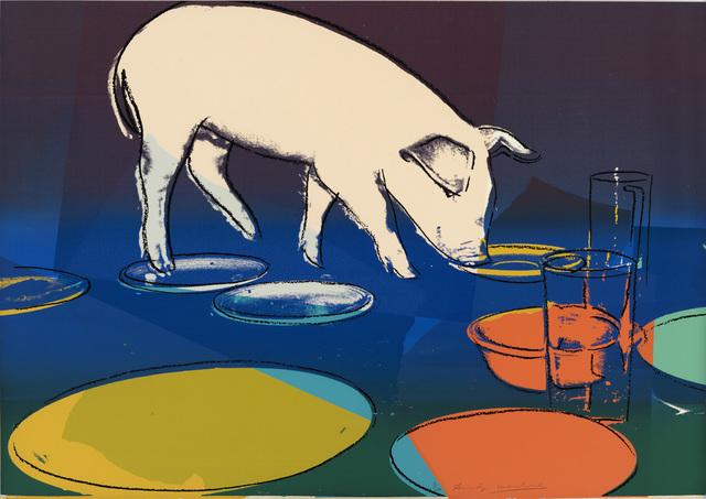 Andy Warhol, 'Fiesta Pig', 1979, Ludorff