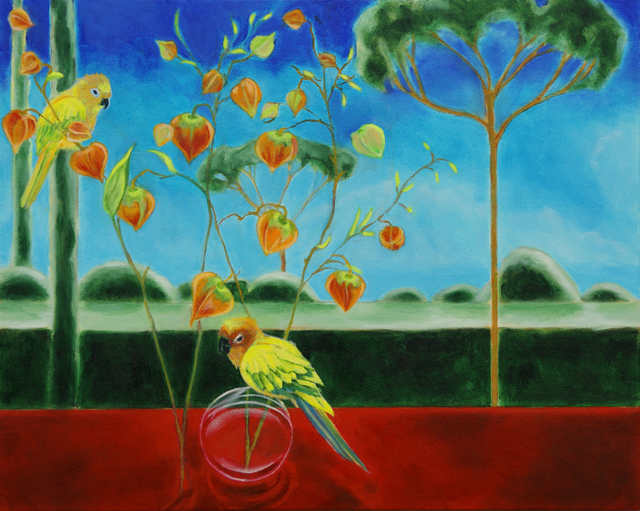 Katherine Pappas-Parks, 'One Moment is Timeless, as the Flying Birds Know IV', Walter Wickiser Gallery