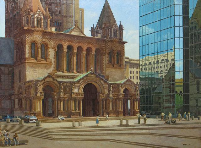 Joel Babb, 'Trinity Church, Boston, Massachusetts', 1981, Vose Galleries