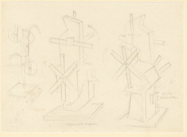 , 'Untitled (Draft for Estructura Concreta),' ca. 1958, AREVALO