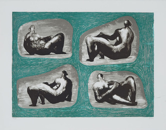 Four Reclining Figures - Caves