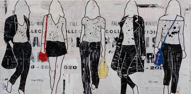 Jane Maxwell, '5 Walking Girls',  , JoAnne Artman Gallery