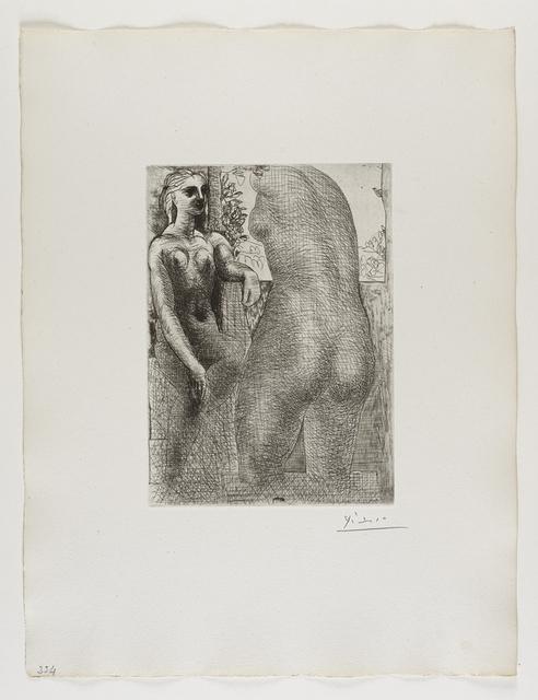 Pablo Picasso, ''Marie-Thérèse regardant son Corps sculpté' from the 'Suite Vollard'', 1933, Frederick Mulder