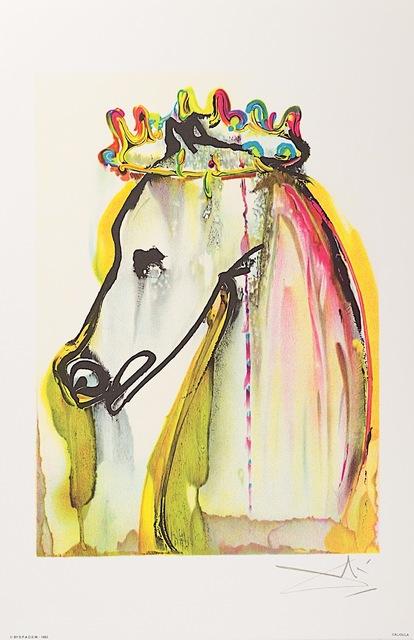 Salvador Dalí, 'Caligula', 1983, Print, Lithograph on Vélin d'Arches Paper, Art Lithographies