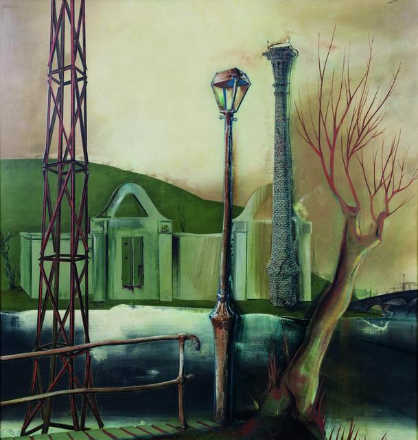 , 'Industrie-Landschaft,' ca. 1943, Galerie Valentien