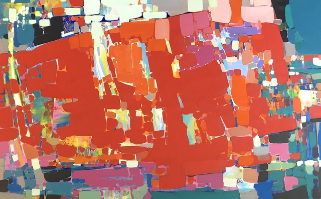 Vahe Yeremyan, 'Abstract in Red', 2018, Vayer Art