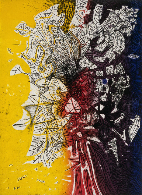 , 'Yellow-Red-Black Tree,' 1962, Pera Museum