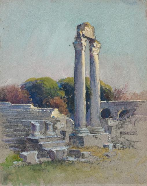 Mabel Woodward, 'Two Watercolors', Skinner
