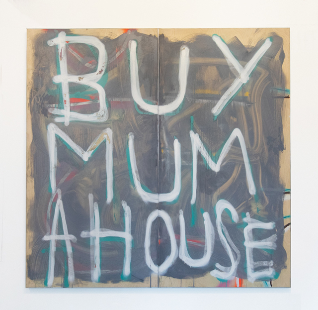 Thomas Langley, 'Mummy's Boy XL White on Grey', 2019, UNION Gallery