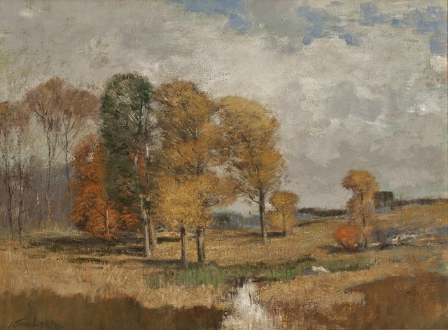 Alexander Van Laer, 'Fall Breeze', ca. 1910, Private Collection, NY
