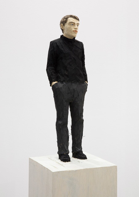 , 'Man in black roll-neck sweater,' 2017, Monica De Cardenas