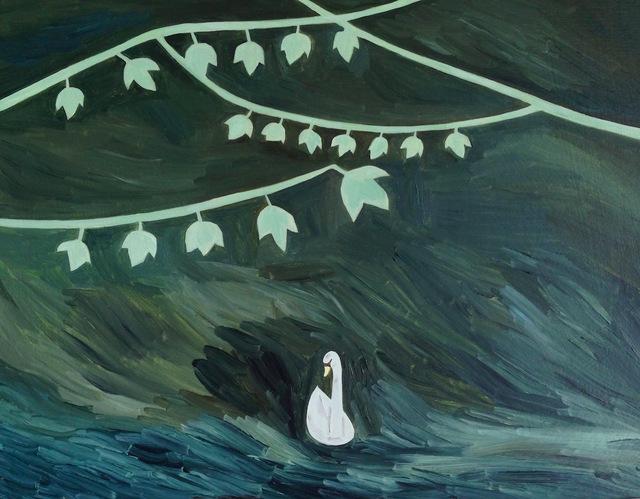 , 'swinging leaves ,' 2015, Gallery Side 2