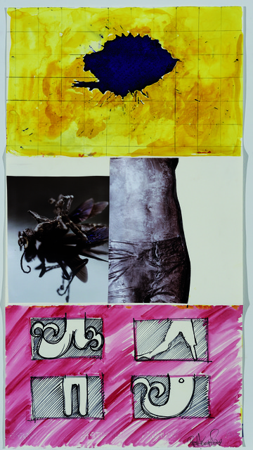Pat Steir, Dana Hoey, and Ryan McGinness, 'Exquisite Corpse 17,' ca. 2011, Mana Contemporary