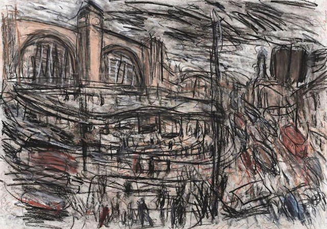 , 'St Pancras and Pentonville Road,' 1997, Goodman Fine Art