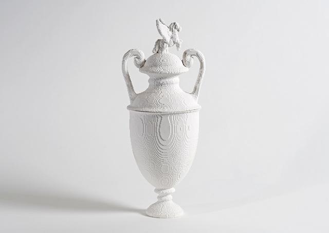 , ''Wedesus' lidded urn,' 2017, Cynthia Corbett Gallery