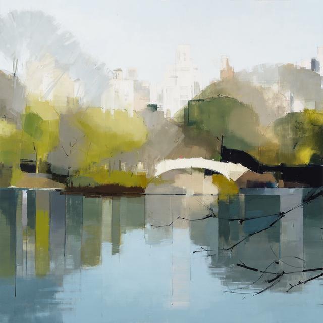 , 'Bow Bridge Reflections,' 2014, Kathryn Markel Fine Arts