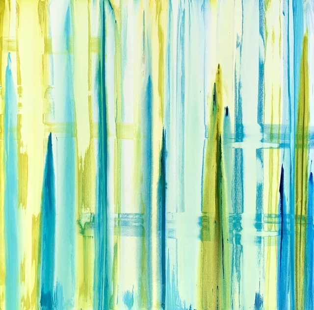 Erik Skoldberg, 'Erik Skoldberg, Algae, Teal, Blues', 2019, Oliver Cole Gallery