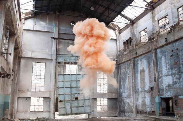 Isabelle & Alexis, 'Zarragossa - Nude cloud rising in an abandonned powerplant in the mountains of Zarragossa.', 2013, B Lounge Art