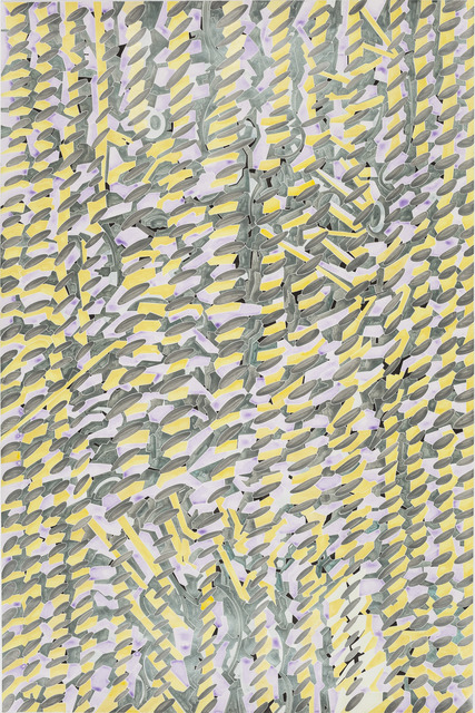 , 'Details of my abstract painting that form a parallel world composed of machines. NO. 17,' 2014, A+ Contemporary