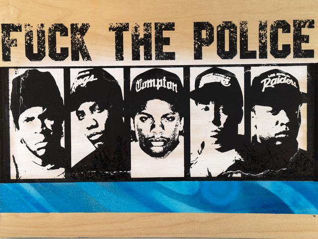 , 'Fuck the Police #1,' 2019, EWKUKS