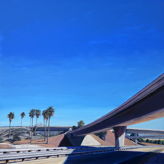, 'Inland Empire Interchange,' 2016, Sue Greenwood Fine Art