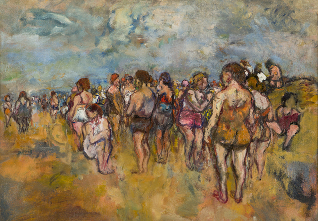 , '[People on Beach],' , Childs Gallery