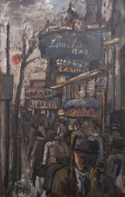 , 'Ciudad vieja,' 1960, Galería de las Misiones