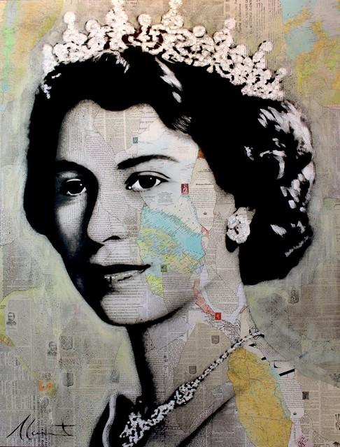 , 'Elizabeth II,' 2018, Galerie de Bellefeuille