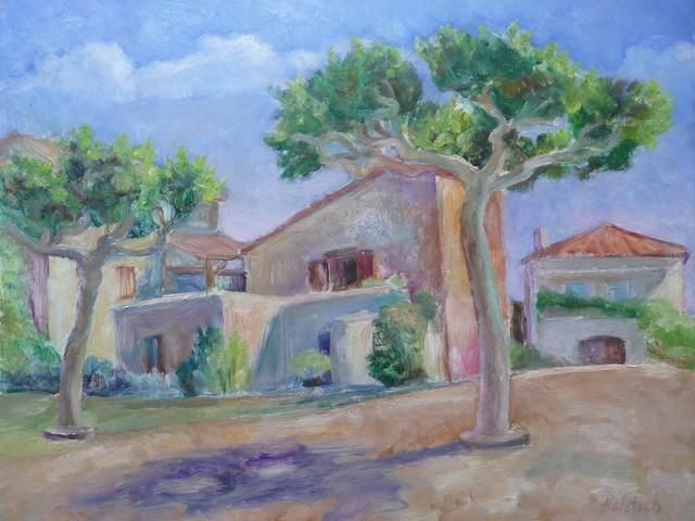 , 'Pollarded Trees, Les Roques,' , InLiquid