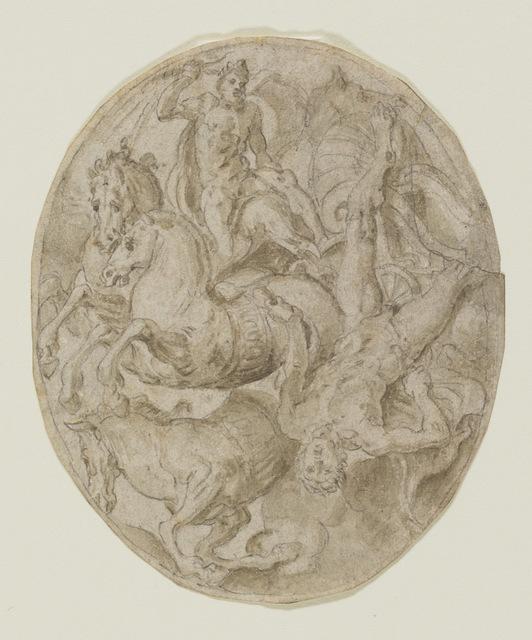 , 'The Fall of Phaeton,' ca. 1555, Bowdoin College Museum of Art
