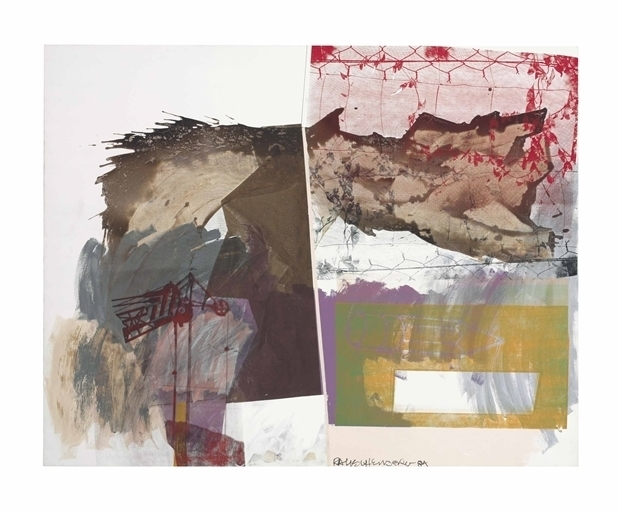 Robert Rauschenberg, 'Rose Wrench', Acrylic and silkscreen on canvas, Christie's