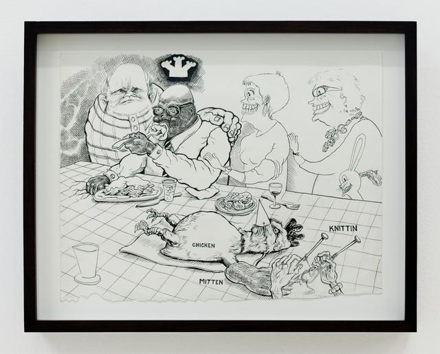 , 'Christmas Dinner,' 2010, Shulamit Nazarian