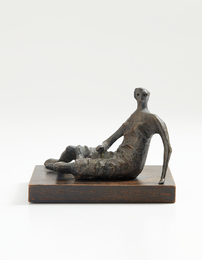 Maquette for Draped Reclining Woman