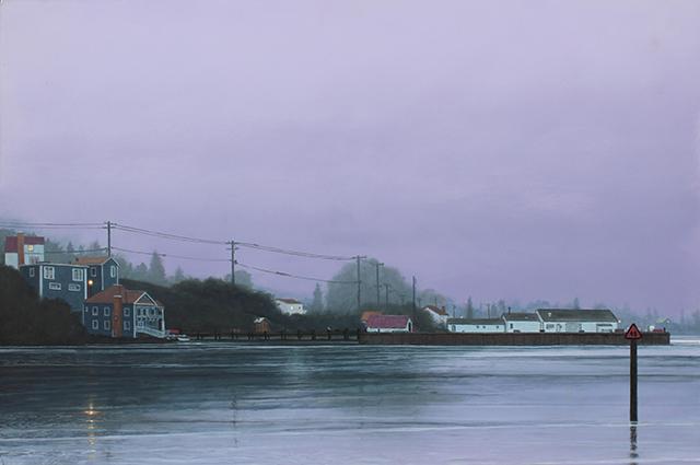 ", '""Puget Sound"",' 2018, Scott White Contemporary Art"