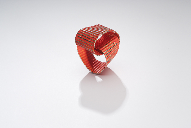 , 'Fortuny Red, Ring,' 2014, Gallery Loupe