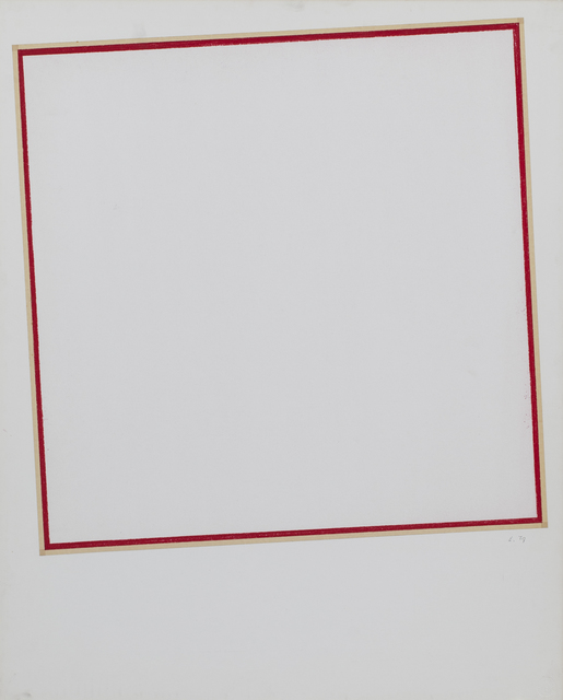 , 'Untitled,' 1977, Albertz Benda
