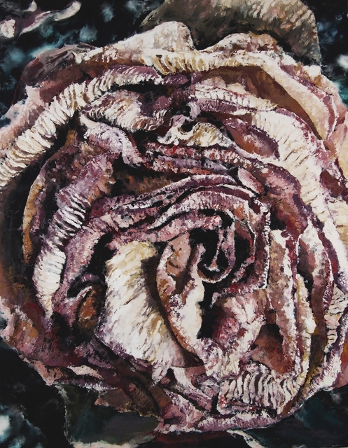Philippe Cognée, 'Rose 1', 2019, Templon