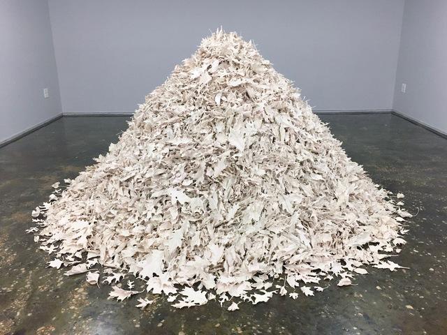 , 'Leaf Pile 1,' 2016, A.I.R. Gallery
