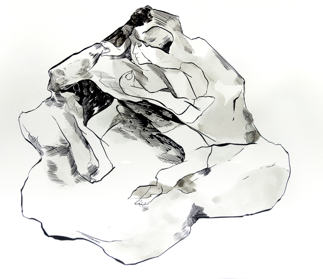 , 'Mirror stone (Piedra espejo),' 2018, 80M2 Livia Benavides
