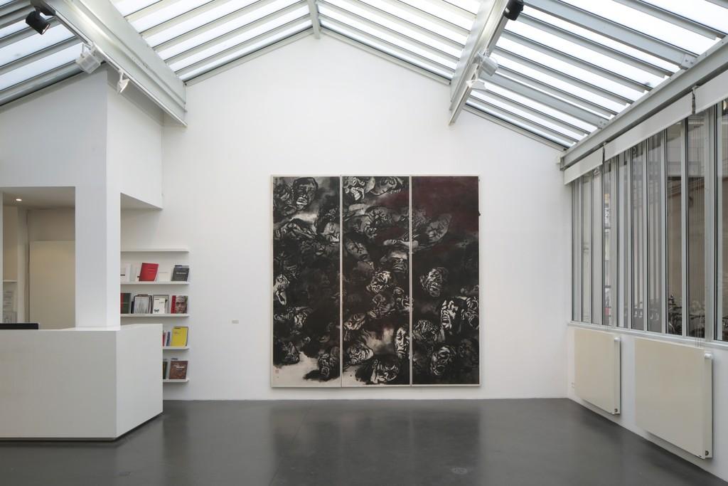 Installation view solo show Yang Jiechang. © Hervé Abbadie