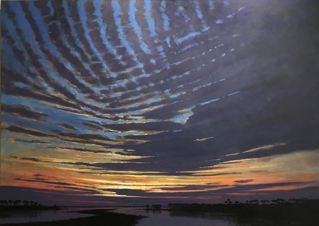 , 'Mackerel Clouds Last Light,' , LeMieux Galleries
