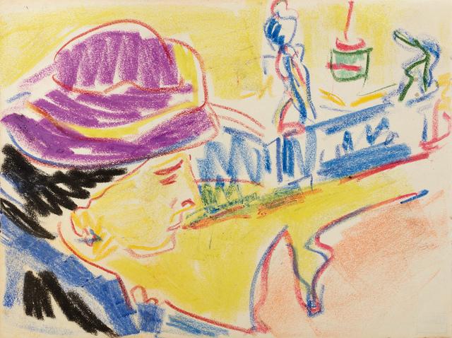 , 'Portrait of a Woman in a Hat,' ca. 1910, W&K - Wienerroither & Kohlbacher