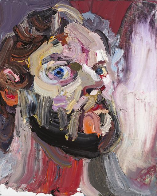 , 'Self Portrait with mirror No. 1 ,' 2015, Tolarno Galleries