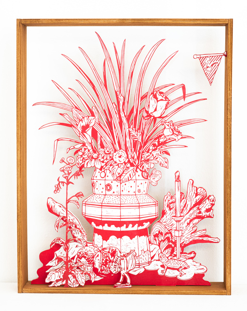 Kenichi Yokono, 'still life', 2015, Sculpture, Woodblock cut, Micheko Galerie