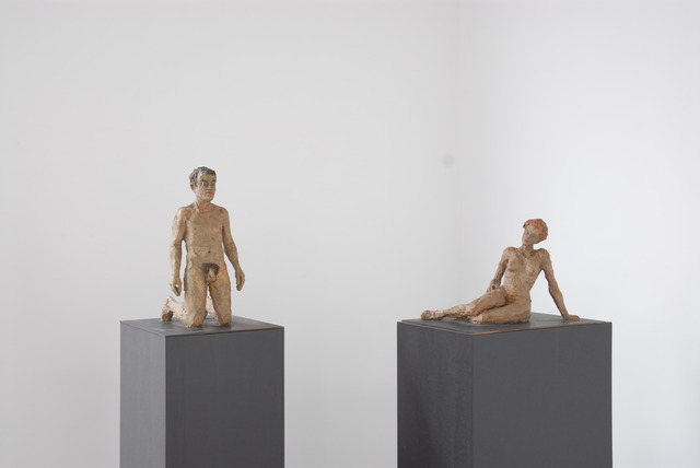 , 'Kniender Mann (Kneeling Man) and Liegende Frau (Reclining Woman),' 2012, Deweer Gallery