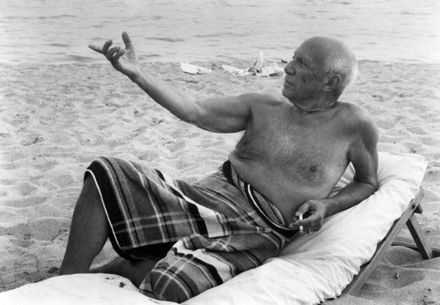 , 'Picasso sur la Plage de L'Hotel,' 1965, Odon Wagner Contemporary