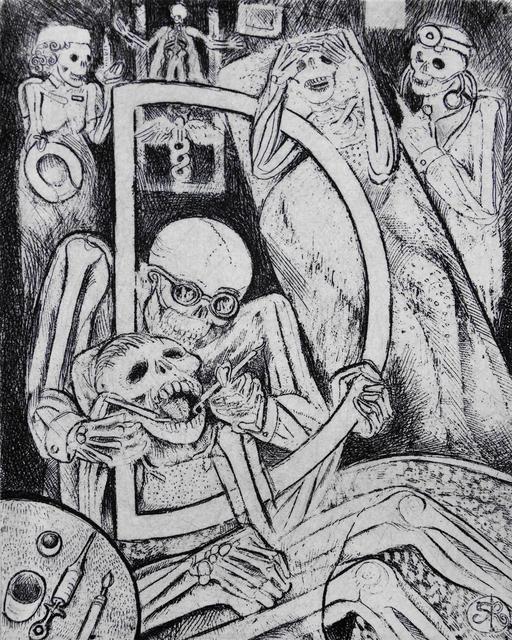 , 'D - Dentists & Doctors,' 2014, Bert Green Fine Art