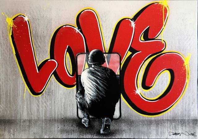 , 'Zero Tolerance - Love,' 2018, NextStreet Gallery