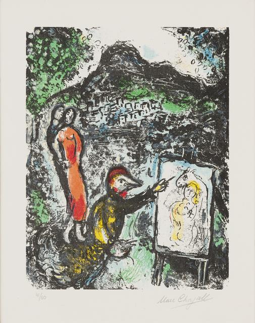 Marc Chagall, 'Devant St.-Jeannet', 1972, Galerie Bromer