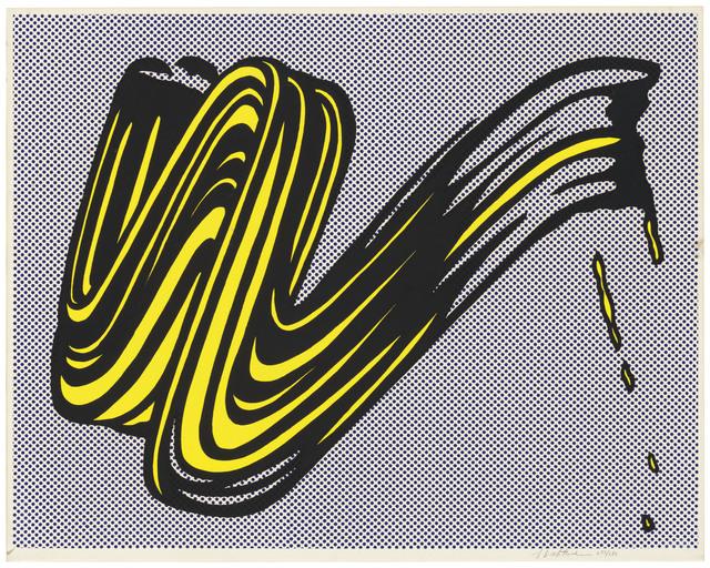 Roy Lichtenstein, 'Brushstroke', 1965, Christie's